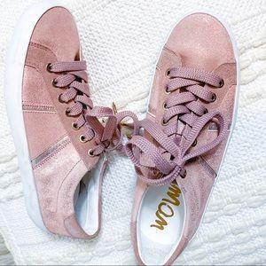Sam Edelman Rose Gold Sneakers